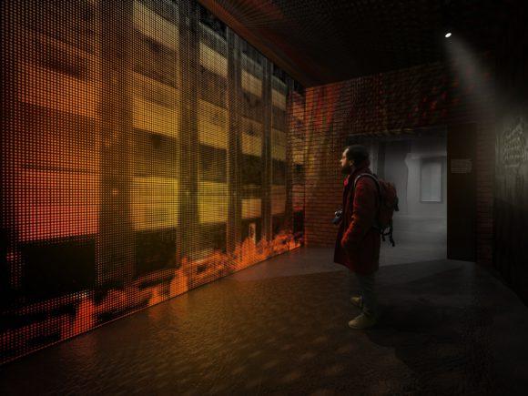 """Koncepcja wystawy """"Zabrał ich ogień… Piekło więzienia na Radogoszczu w świetle losów ludności Kraju Warty w okresie II wojny światowej"""