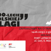W 100-lecie polskiej flagi