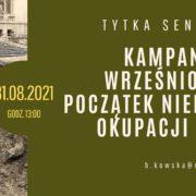 """""""Kampania wrześniowa i początek niemieckiej okupacji Łodzi"""""""